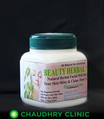 beauty-herbal-mask-chaudhry-clinic